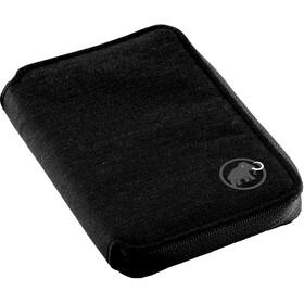 Mammut Zip Wallet Mélange - Cartera de viaje - negro